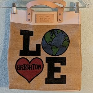 Love Brighton tote bag